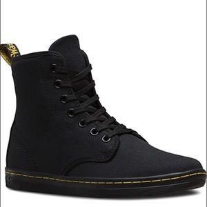 Doc Martens Shoreditch Canvas Sneakers Black 7